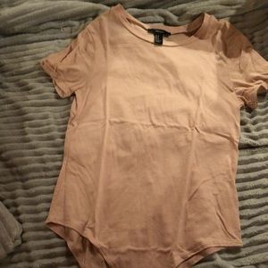 Forever 21 t-shirt body suit